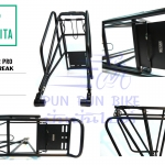 VINCITA : C008 : Rear Carrier Pro For Disc Break ตะแกรงหลังสำหรับจักรยานดิสเบรค