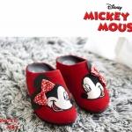 สไตล์แบรนด์ Mickey Mouse รุ่นหัวปิด วัสดุทำจากผ้ากำมะหยี่นุ่มมาก