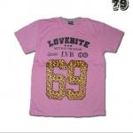 เสื้อยืดชาย Lovebite Size XXL - Lovebite 69