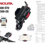 MINOURA : iH-520 อุปกรณ์ยึดสมาร์ทโฟนติดแฮนด์