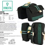 VINCITA : UA029 URBAN ADVENTURE : TOP TUBE BAG