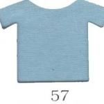 ผ้ายืดคอตตอน 100% สีฟ้าครามอ่อน แบ่งขาย สั่งจำนวนน้อยกว่า 10 โล