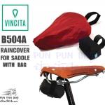 VINCITA : B504B Rain cover for saddle with bag