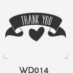 ตราปั๊มงานแต่ง WD014