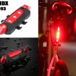 RAPIDX : AQY03 ไฟท้ายจักรยาน
