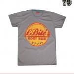 เสื้อยืดชาย Lovebite Size M - Root Beer