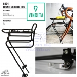 VINCITA : C004 Front Carrier Pro ตะแกรงหน้า รุ่นโปร