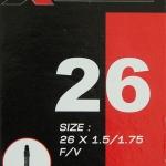 ยางใน X-Mission 26x1.5/1.75 FV จุ๊บเล็ก