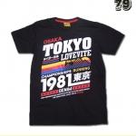 เสื้อยืดชาย Lovebite Size L - Tokyo running 1981