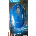 เม้าส์ GTECH GT-1001 / Ergonomic Design 1200 DPI