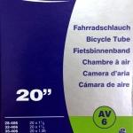 Schwalbe 20x1.1-1.5 AV6 จุ๊บใหญ่