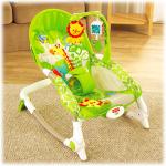 SALES พร้อมส่งเปลสั่นอัตโนมัติเลียนแบบ Fisher price Newborn-to-Toddler Portable Rocker ส่งฟรี
