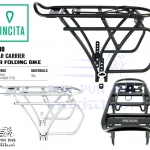 VINCITA : C010 : Rear Carrier For Folding Bike ตะแกรงท้ายสำหรับรถพับ
