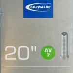 ยางใน Schwalbe 20x1.5-2.4 AV7 จุ๊บใหญ่