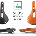 VINCITA : SL05 Leather Saddle : SPORT AIR