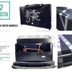 VINCITA : B144 กระเป๋าจักรยานกล่อง มีล้อ