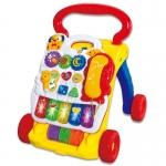 SALES รถผลักเดินดนตรี แผ่นกิจกรรมถอดประกอบได้ Music baby walker ส่งฟรี