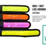 VINCITA : R06 LED armband / legband (สั้น)