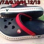 รองเท้า crocs เด็ก ไซส์ C12-13 No.13