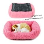 ที่นอนน้องหมาขนมิงค์ สีชมพู พร้อมส่ง