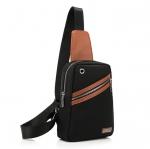 พร้อมส่ง สีดำ กระเป๋าคาดอก กระเป๋าคาดเอว ผ้าไนลอน กันน้ำได้ ดีไซน์สวย ใช้งานง่าย