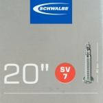 ยางใน Schwalbe 20x1.5-2.4 SV7 จุ๊บเล็ก
