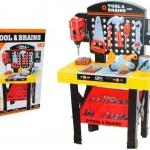 โต๊ะเครื่องมือช่่าง Tool & Brains อุปกรณ์ 54 ชิ้น ส่งฟรี