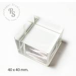 Sticky Acrylic-Cube