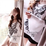 Long Sleeve Embroidery Bohemine Style