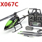 FX067C Flybarless RC 4 ch Helicopter