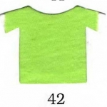 ผ้ายืดคอตตอน 100% สีเขียวตองสด แบ่งขาย สั่งจำนวนน้อยกว่า 10 โล