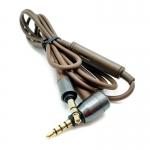 ขายสายเปลี่ยนหูฟัง X-Tips รุ่น Brown สีน้ำตาล พร้อมปุ่มเพิ่ม ลดเสียง