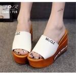 รองเท้าส้นเตารีด สไตล์เกาหลี ทรงสวยมาก น้ำหนักเบา
