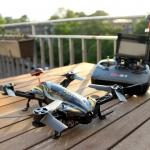 CX-91B Racing Drone + แว่นมอง+จอภาพมอนิเตอร์