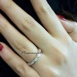 ในการสวมใส่แหวน แต่ละนิ้ว