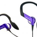 ขายหูฟัง Panasonic RP-HS33 กันน้ำ กระชับ เบาสบาย เหมาะสำหรับใส่ ออกกำลังกาย