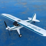 PIPER J3 Super cup Brushless moter