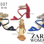 รองเท้าสวย ดีไซส์เก๋ ยี่ห้อ Zara woman แบรนด์ดัง
