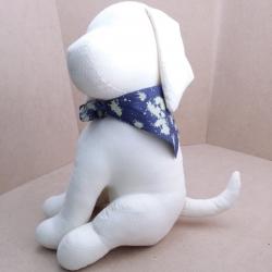 ตุ๊กตาหมานั่งผ้าดิบ Lazy Dog Softy Toy - WHITE