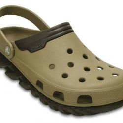 รองเท้า CROCS รุ่น Duet Max สีน้ำตาล