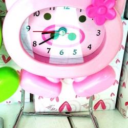 นาฬิกาตั้งโต๊ะ ลายการ์ตูนขาดุ๊กดิ๊ก (1x3)