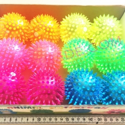 บอลหนามเด้งมีเสียง มีไฟกล่อง 27.5 ซม.