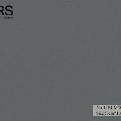 วอลเปเปอร์ยุโรปสีเทาเข้ม มีกลิดเตอร์ No.LIF4-M36