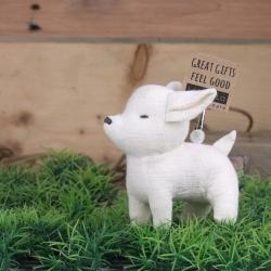 Let's be friends. (Flop) Chi wa wa ตุ๊กตา ที่ทับกระดาษ หนีบกระดาษ ชิวาว่า(นอน)