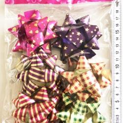 โบว์ของขวัญ 6 ชิ้นถุง 22 ซม.