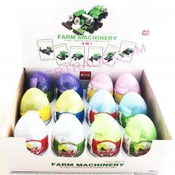 ไข่เลโก้สีหวาน รถทำฟาร์มกล่อง 26.5 ซม.