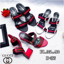 รองเท้าส้นสูงทรงสวม style gucci