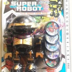 หุ่นยนต์ยิงเหรียญ 5 ชิ้นแผง 20 ซม.