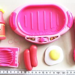 ชุดครัวกะทะร้อน+อุปกรณ์ถุงตาข่าย 17 ซม.(งานห้าง)