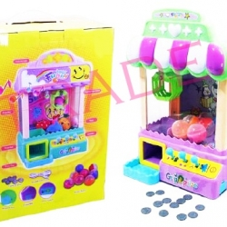 ตู้คีบของเล่นมีเสียง มีไฟ ชาร์ทไฟบ้านได้กล่องจัมโบ้ 40 ซม.